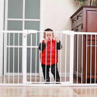 攸曼诚品(eudemon)婴儿童安全门栏宝宝楼梯口防护栏宠物狗栅栏杆围栏隔离门阳台门B款配长款螺栓