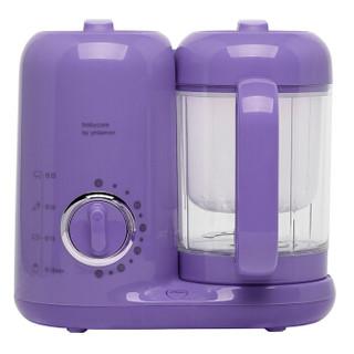 babycare婴儿辅食机 多功能蒸煮搅拌一体宝宝辅食机 4880江户紫