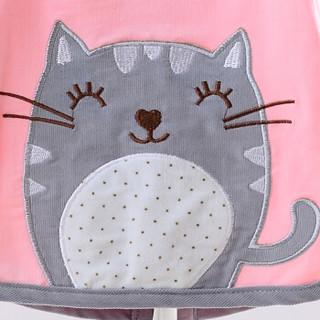 喜亲宝 婴儿防水款罩衣 (粉色、L)