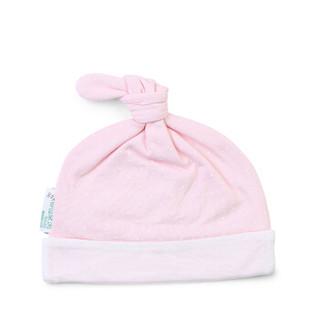 PurCotton 全棉时代 婴幼儿针织帽 (粉底波点、36-38、1件/袋)