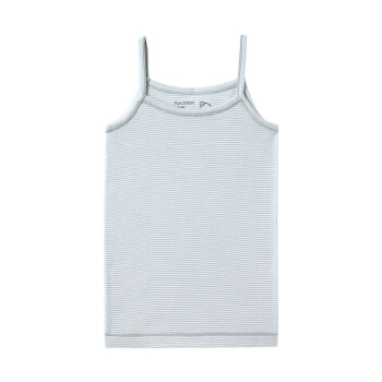 PurCotton 全棉时代 2000219304 女中童针织罗纹无侧缝吊带背心