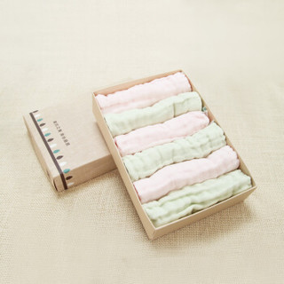 Begood 贝谷 婴儿口水巾 (6条装)