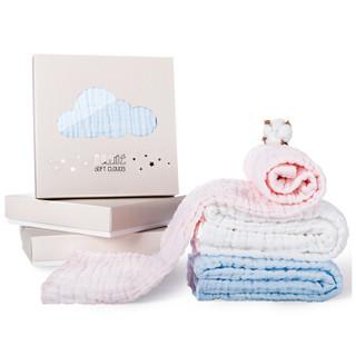 小白熊 婴儿纱布浴巾 (100cm*100cm)