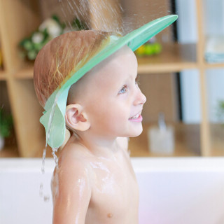 Babyruler 宝宝洗头帽 (浅绿色)