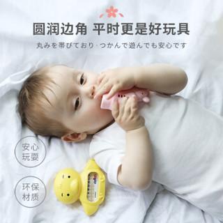 如山(LUSN)小米生态链企业婴儿水温计 宝宝洗澡 2秒感温水温温度计 日本制造 环保PS树脂材质 小河马