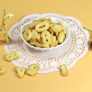 方广 宝宝零食 钙铁锌多维营养饼干三合一(动物+字母+数字)180g*3 (6个月以上适用)