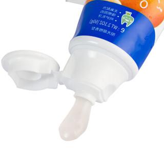 YANDY 严迪 儿童牙膏 (60g*3支装、甜橙味、2~12岁)
