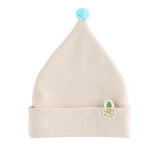 Wellber 威尔贝鲁 婴儿帽子 (L 0-5岁、两条装)