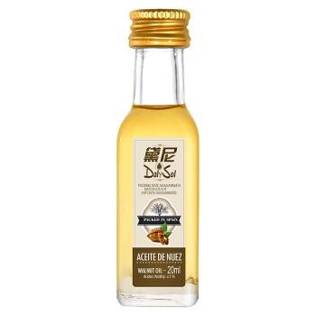 黛尼(DalySol)婴儿辅食核桃油20ml 西班牙原瓶进口食用油