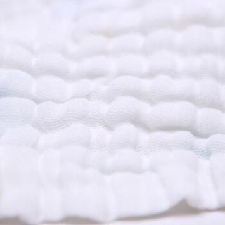 喜亲宝 全棉婴儿口水方巾 (厚款30*30CM、6条)