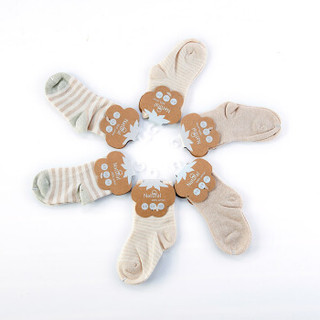 Cutebaby 萌宝 婴儿彩棉袜子 (9cm建议0-1岁)