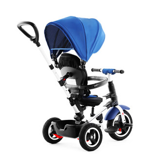 Little Tiger 小虎子 S380 可折叠轻便婴儿三轮推车 蓝色