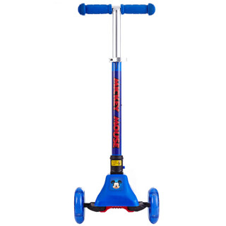 Disney 迪士尼 D170647 带闪光可调档儿童滑板车 蓝色
