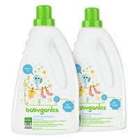 BabyGanics 甘尼克宝贝 3倍浓缩婴儿洗衣液 无香 1.77L*2瓶