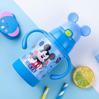 Disney 迪士尼 WD88 宝宝学饮杯 蓝色米奇 280ml