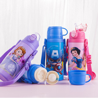 Disney 迪士尼 HM08 儿童保温杯 美国队长 500ml