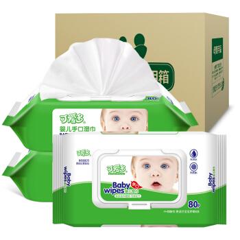 Cutebaby 可爱多 婴儿湿巾 (80片*36包)