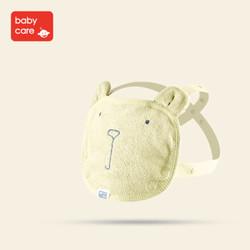 babycare口水巾宝宝口水兜多功能饭兜胸巾 3720米色