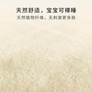 如山(LUSN)小米生态链企业可洗婴儿隔尿垫 新生儿婴儿用品 草珊瑚抑菌 三层防水透气 大号70*100 芝士黄