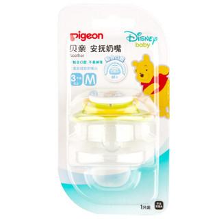 贝亲(Pigeon)安抚奶嘴 M号 Disney维尼-派对 3-6月使用 N948