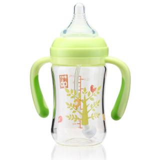 gb 好孩子 小树系列 宽口径玻璃奶瓶 (180ml)