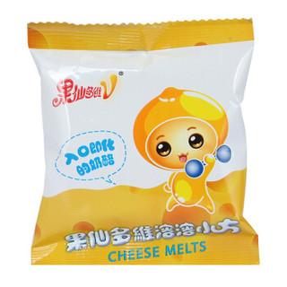 果仙多维V 宝宝零食奶酪溶豆 溶溶小方钙立方13g香蕉味