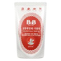 B&B 保宁 婴儿奶瓶清洗剂 补充装 400ml *2件