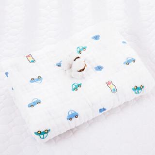 9i9久爱久儿童纱布浴巾宝宝纯棉盖毯被子包巾6层加厚四季透气款