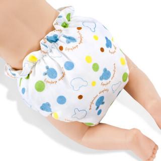 Elepbaby 象宝宝 婴儿防水尿布裤 (M、2条)