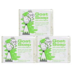 Goat Soap 山羊奶皂儿童香皂洗脸沐浴皂100g*3 *3件
