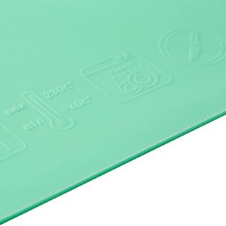 lutule 路途乐 儿童硅胶卡通餐垫 (单个装、晨雾绿)