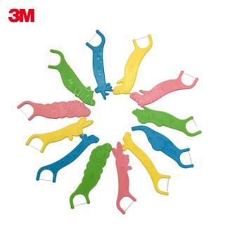 3M 儿童安心牙线棒 (38支装)