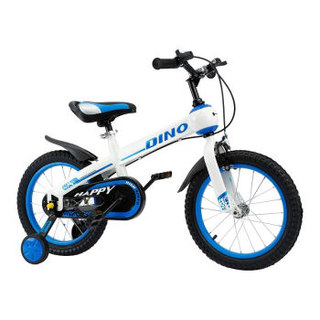Happy Dino 小龙哈彼 LB1416Q-R105 儿童自行车 蓝白 14寸