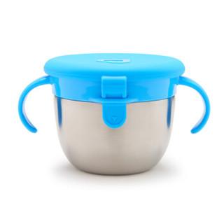 munchkin 满趣健 儿童不锈钢防漏零食杯 (263ml)