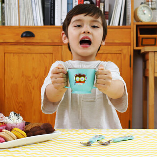EDISON 爱迪生 儿童训练水杯 (蓝色、240ml)