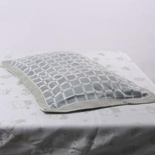 喜亲宝 竹纤维宝宝枕套吸汗巾 (40×28厘米方格2条)
