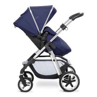 Silver Cross Pioneer 婴儿多功能高景观推车 (复古蓝)
