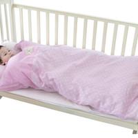 蒂乐 DL406M-A 儿童加厚防踢睡袋 ( M(120*70cm) 、粉色)