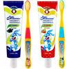 蜜语Missoue儿童牙刷牙膏套装(60g*2+软毛牙刷*2)无氟婴幼儿宝宝防蛀牙膏 进口 33元
