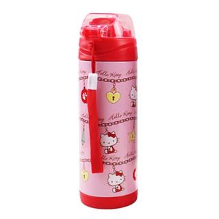 Hello Kitty 凯蒂猫 儿童保温吸管杯 (400ML、粉红)