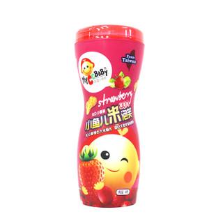 MyCcBaBy 我D小蔡蔡 小鱼儿米泡芙 (58g 、草莓味)