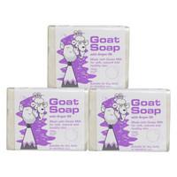 Goat Soap 山羊奶 手工山羊奶皂 (100g*3块、坚果味)