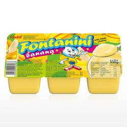 菲仕利(frischli)芬塔妮妮夸克乳酪德国儿童酸奶宝宝辅食(香蕉味)55g*6杯 *3件