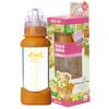 咪呢小熊 (M&N BEAR)新生儿防烫抗摔标准口径奶瓶 宝宝玻璃奶瓶200ml 36元