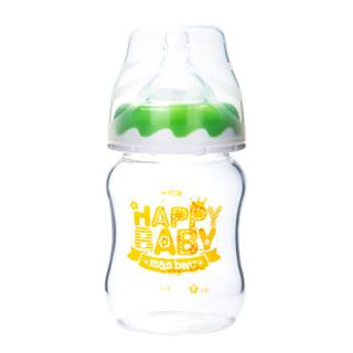 m&n bear 咪呢小熊 婴儿防胀气奶瓶 (宽口径、玻璃、160ml)