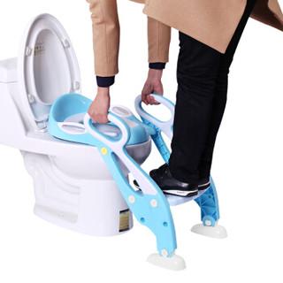 攸曼诚品 儿童坐便器 (升级款、蓝色)