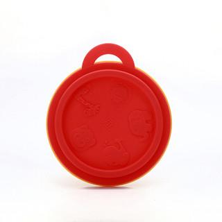 MARCUS&MARCUS 马库斯 4046 婴儿硅胶折叠碗 ( 红色)