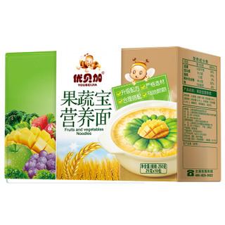 优贝加 儿童无盐营养面条 (果蔬、250g)