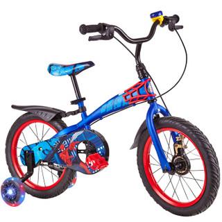 Disney 迪士尼 D161408 儿童自行车 蜘蛛侠 14寸