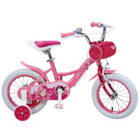 Huizhi 荟智 HG1280Q-H195 儿童自行车 桃花粉 12寸